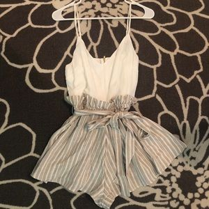 Altar'd State Romper - only worn once